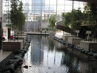 Hotel lower lobby