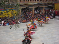 Punakha_dancers