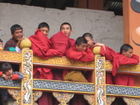 Punakha_monks